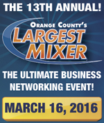 13th Annual Orange County's Largest Mixer